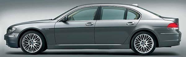 BMW 750Li LCI Modell 2005